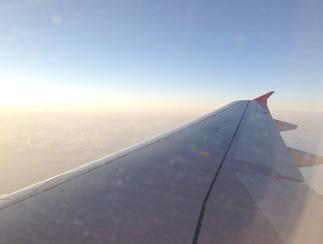 エアアジアで行く沖縄 機内