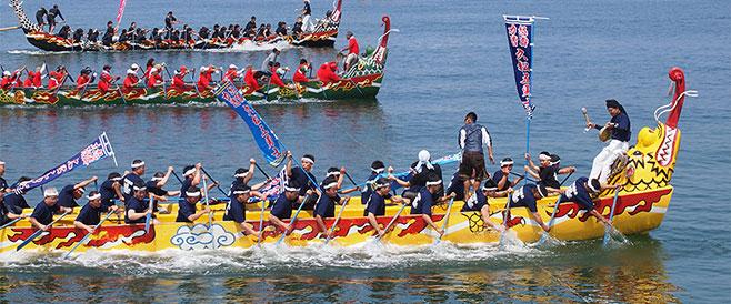 沖縄の6月 ハーリー